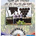 Affiche championnat de france jeu provençal 3x3 à pierrefeu