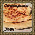 <b>CHEESE</b> <b>NAANS</b> ( pains indiens au fromage)