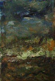 Paysage vénitien IV (12x18cm)