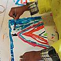 Atelier peinture : tipi et totem