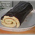 Gâteau roulé choc'orange