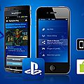 L'application <b>Playstation</b>