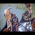 Les normands (vikings) envahissent la vendée, pillent les églises et les monastères