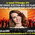 Le Monde des Miss. Interviews, Concours, Castings