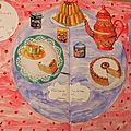 Artjournal et gribouillage #126 - thème petites douceurs