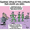 Hollande impose la taxe carbone