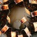 Guirlande lumineuse (sur piles).