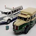 Berliet TLR 10a dépanneuse de bus. Ixo pour Hachette. Collection Berliet. #75. 1/43.