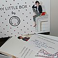 Le flop de My Little Box en mode <b>Inès</b> de la <b>Fressange</b>