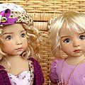 Tiffany (Geri Uribe), Ninon (Joyce Mathews)