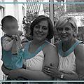 Grand-mère, mère et fille...