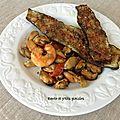 Crevettes et moules à la provençale