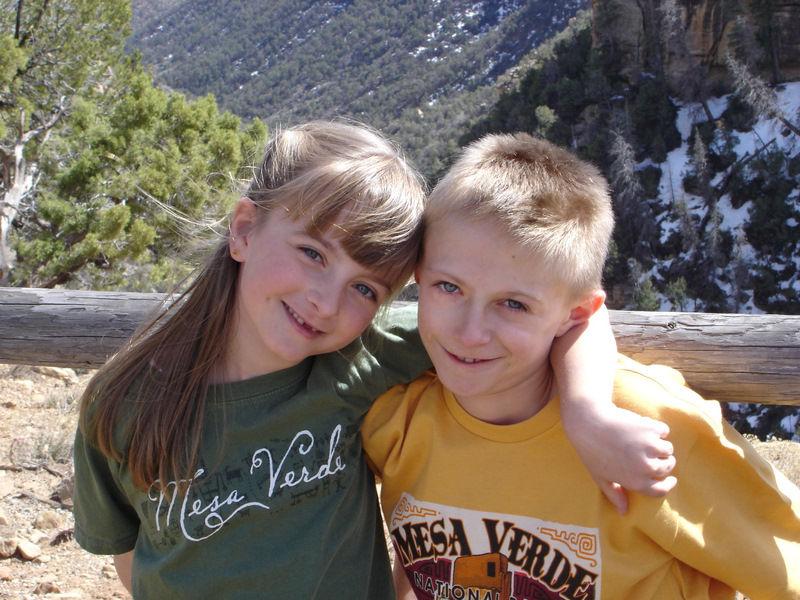 Mesa Verde.. C'est écrit sur le tee-shirt !