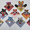 Atelier aps mardi 19 janvier avec les enfants : marque-pages