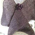 châle en mohair laine fonty
