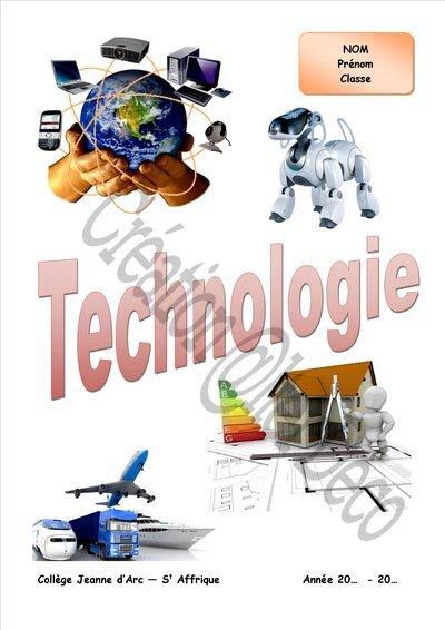 Bien-aimée Célèbre Illustration Cahier De Technologie @NE79 | Aieasyspain @SR_49