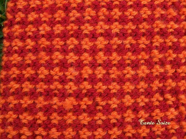 tricoter 2 couleurs