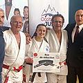 <b>Judo</b> : Orelia Juan ceinture noire à 15 ans