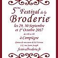 Le Festival de la Broderie