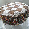 Mon premier gâteau damier