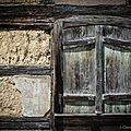 Maison alsacienne en péril