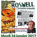 24/01/2017 - Le Soler : <b>Roswell</b>, la contre-enquête, une conférence de M. VELASCO