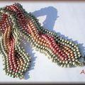 Cabled bracelet