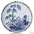 Qianlong blue <b>and</b> white porcelain at Nagel,