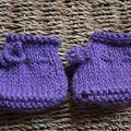 Petits chaussons pour petits petons