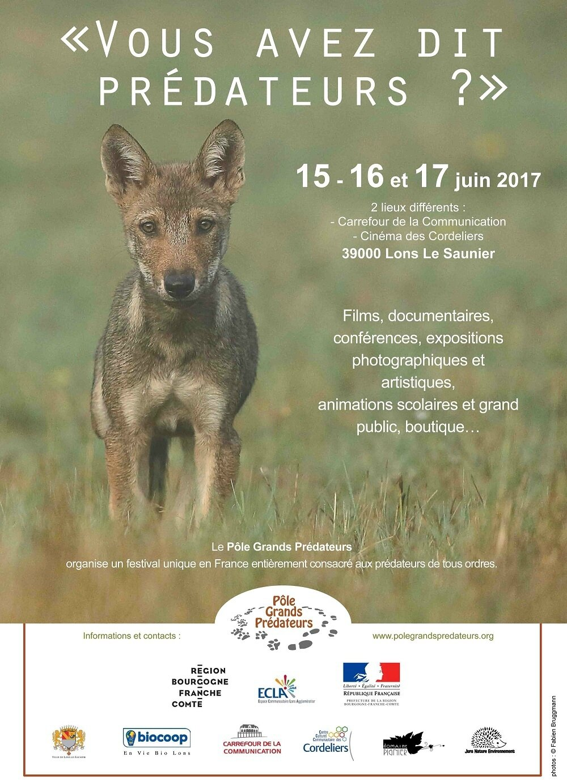 FESTIVAL DES PREDATEURS - JURA - JUIN 2017