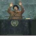 Le programme politique de la libye, présidente de l'assemblée générale.
