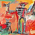 Basquiat 1982_Boy and Dog in Johnnypump