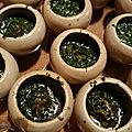 Escargots persillés de papi