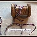 Du biais pour des bracelets