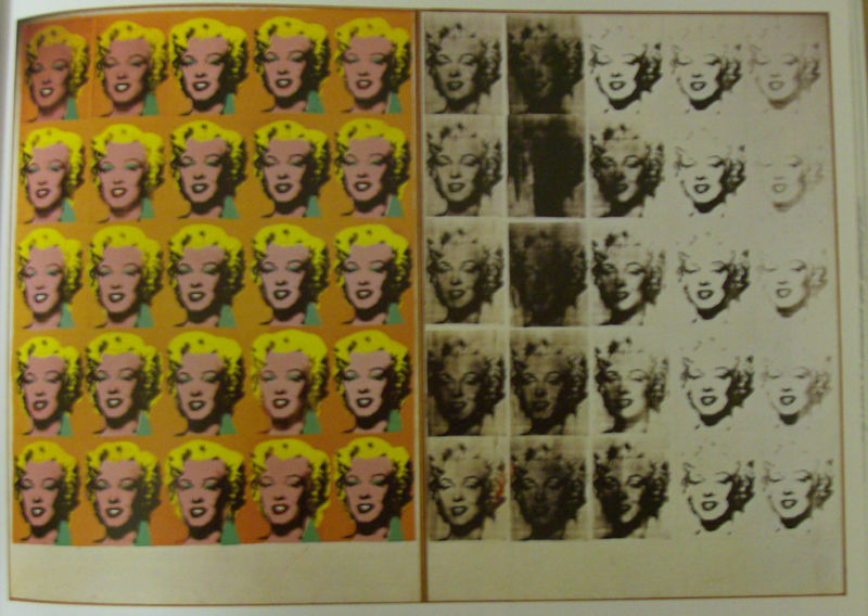 Andy Warhold, Marilyn Diptych, 1962