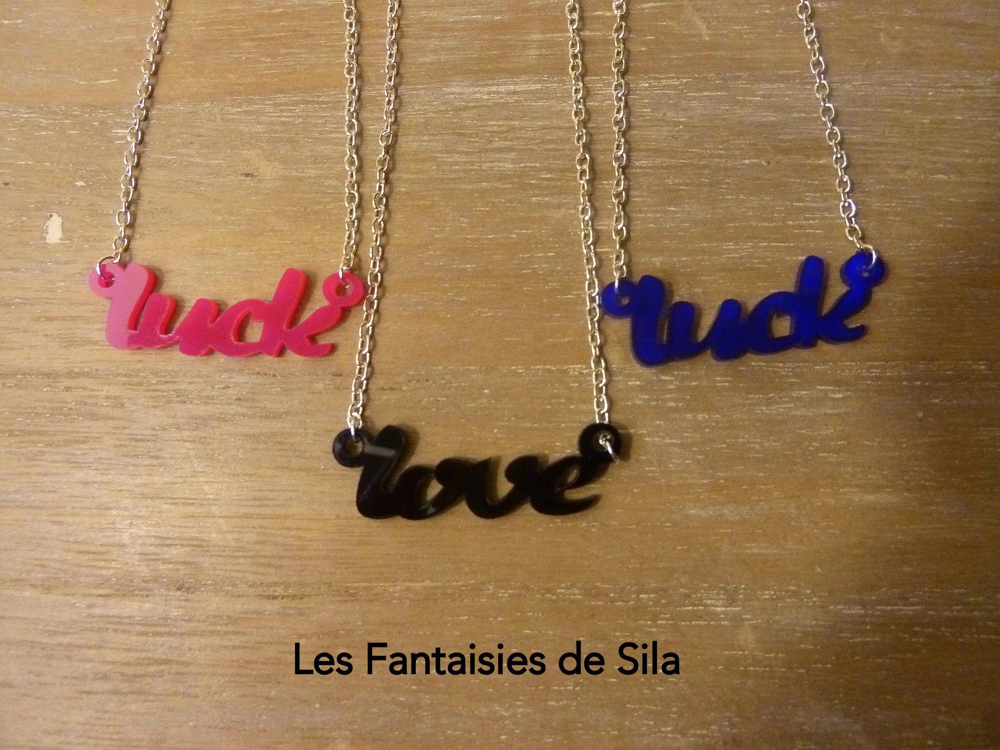 Love & Luck- colori au choix- 20 euros