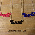 Love & Luck- colori au choix- 20 euros