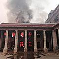 La bibliothèque de l'université du Cap détruite par un <b>incendie</b>