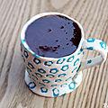 Tasse à café comestible {cupcake au café milicano pour le cupcake's day}