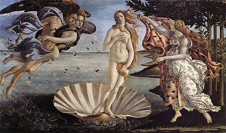 Venus de Sandro Botticelli 1485