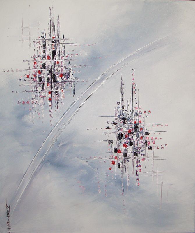 Peinture abstraite peintures de lmartinetto for Peintures abstraites