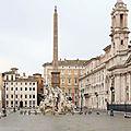 Parione, du <b>Campo</b> dei <b>Fiori</b> à la Place Navone (13/13). Liste des articles.