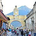 37e jour : Arrivée à Antigua, la ville la plus coloniale d'<b>Amérique</b> <b>centrale</b>