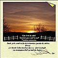 Haiku ....solstice d'hiver
