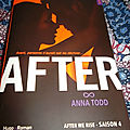 After, tome 4 : Le manque