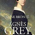 Agnès grey, anne brontë (1847)