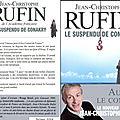 Le suspendu de Conakry, de Jean-Christophe Rufin