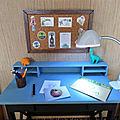 Roombox à l'échelle 1/4 : Le bureau