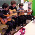Concert dans la classe !