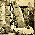 voyage en terre sainte , Georges Legrain archéologue,<b>Karnak</b>,mosquee sainte sophie,haiffa